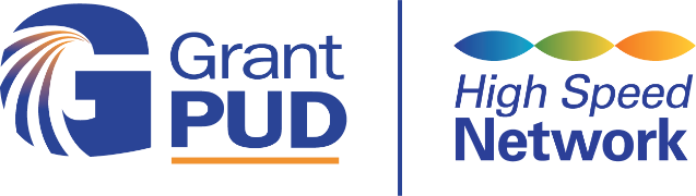 Grant PUD High Speed Network Logo