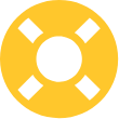 lifepreserver ring icon